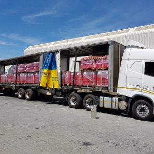 Delivery truck lubrications belnded oil